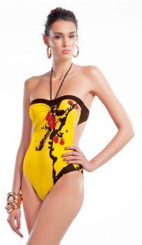 GANDA 23140000 egyberészes fürdőruha