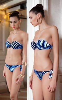 PIGMENTI MARINI 10530322 halcsontos push up kosaras drótos bikini