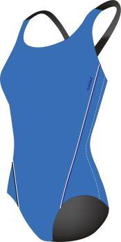BASIC 20266301 női úszó birkózó hát