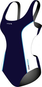 ORCA 20254601 női úszó csatos hát