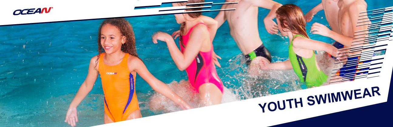 Mädchen badeanzug